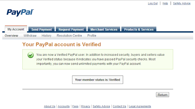 paypal verification [Techzilla Firefox]