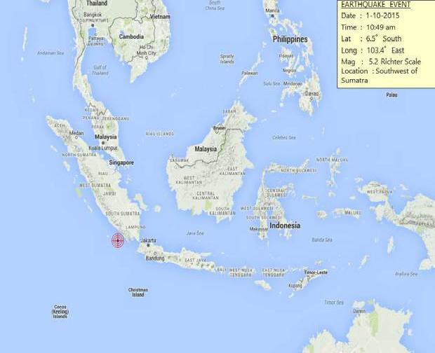gempa bumi pontian