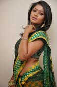 glamorous Anu Sri saree photos-thumbnail-8