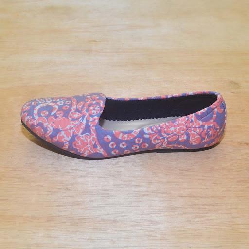 Sepatu Batik The Warna: Jumputan Pink
