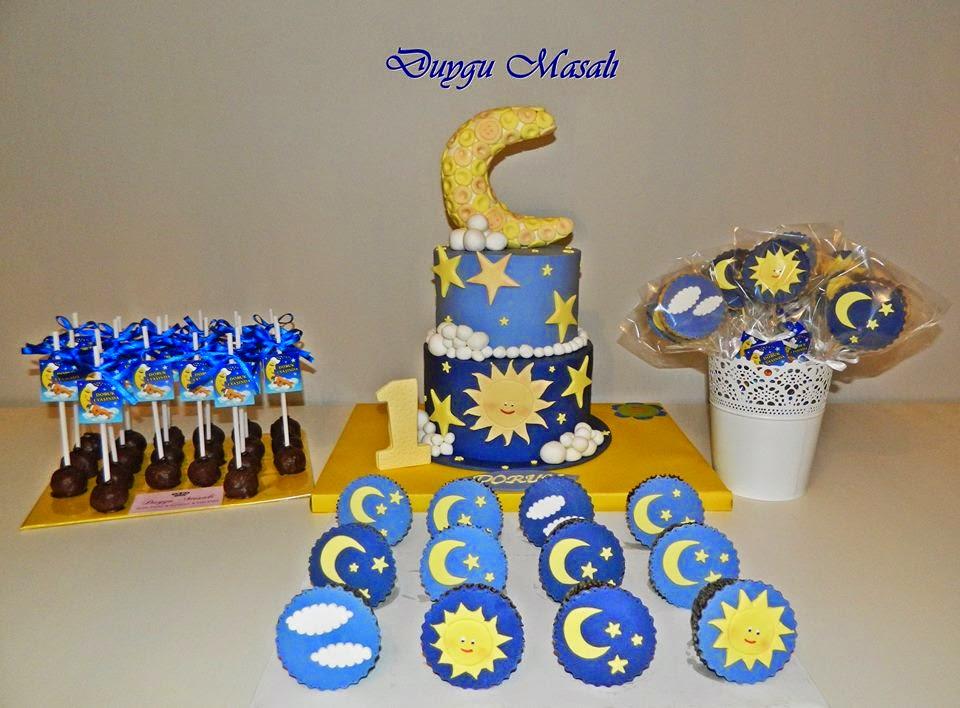 edirne 1 yaş doğum günü pasta