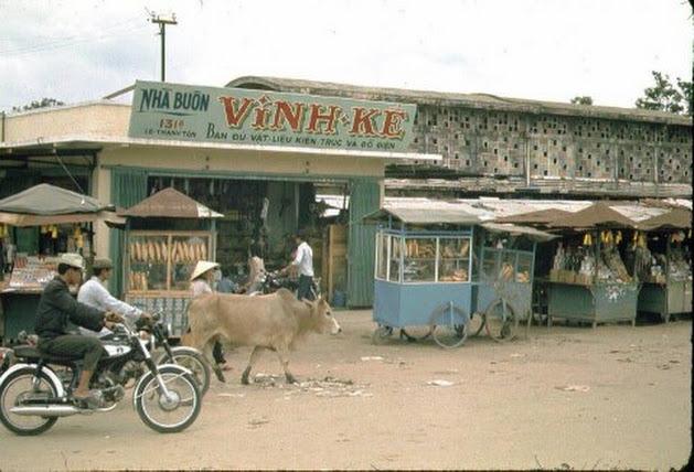 Chợ Kon Tum xưa (trước 1975)