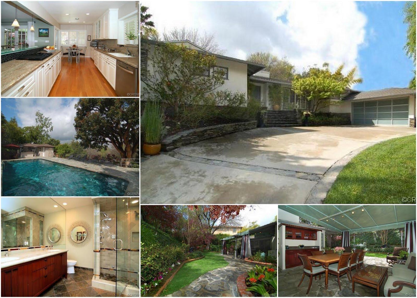 Celebrity real estate leighton meester calls encino home Celebrity real estate pictures