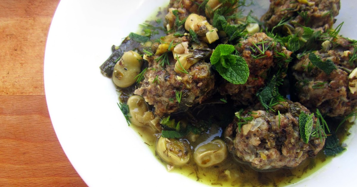 Beef Meatballs with Broad Beans, Lemon and Herbs | The Grazer