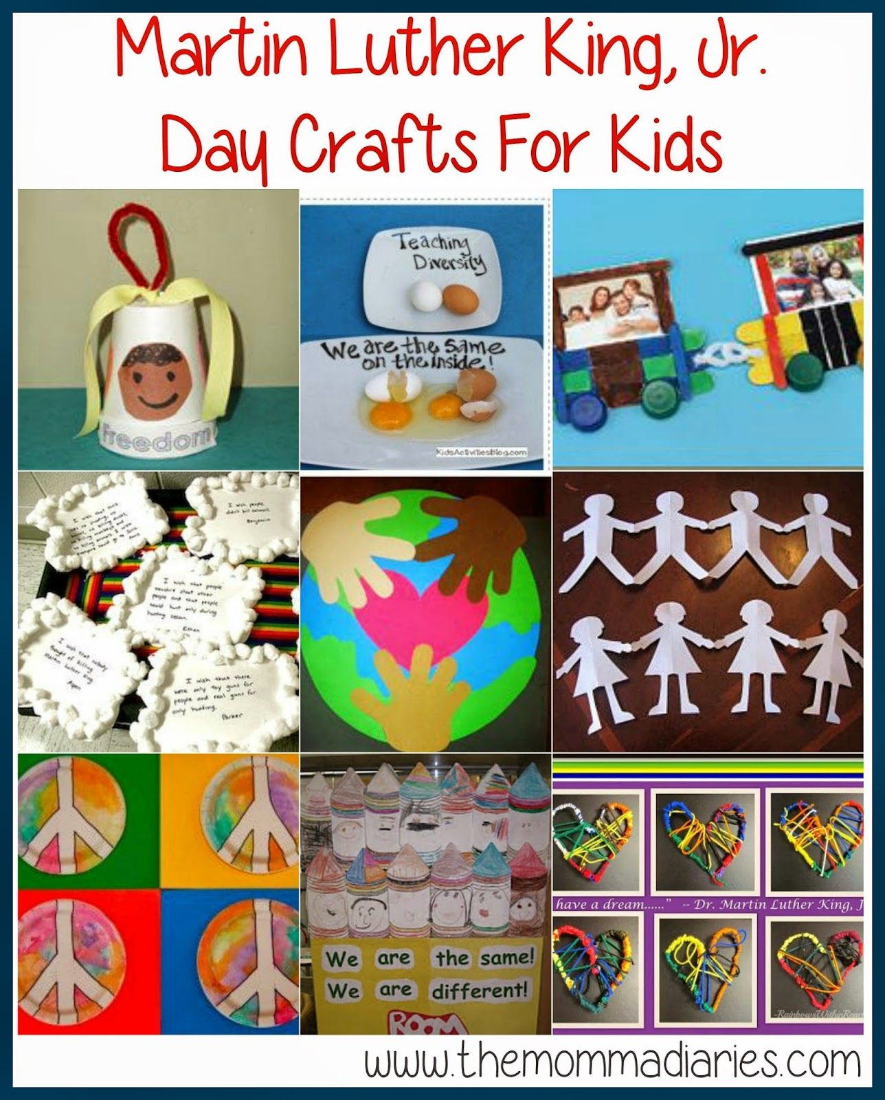 Martin Luther King Jr Day Crafts