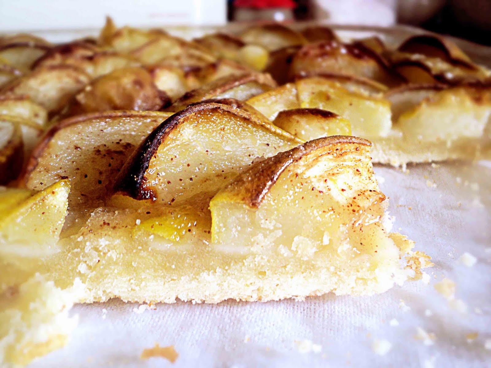 Рецепт пирога из груш