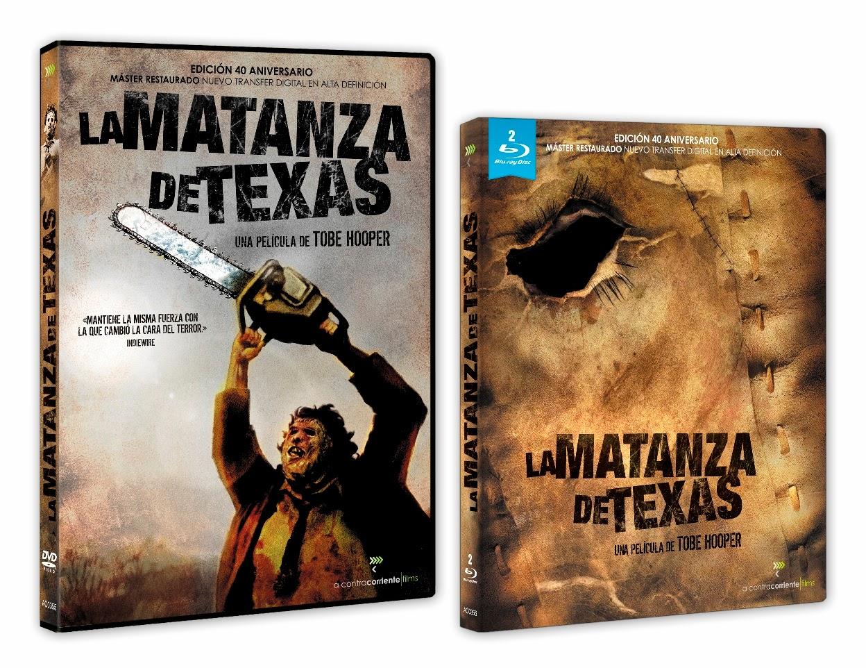 La matanza de Texas | DVD y Blu-ray edición 40º aniversario