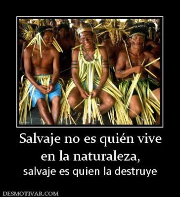 reunión de indios de la selva amazónica