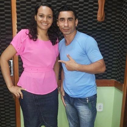 Joabe Reis e a cantora Gospel Lívia Monteiro