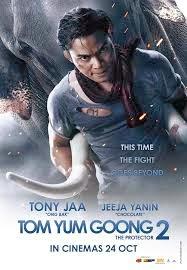 Tony Jaa trong phim người bảo vệ 2