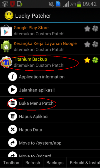 lucky patcher custom patches