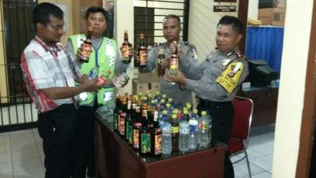 Kapolsek Cicurug Sukabumi Pimpin Ops Cipta Kondisi Razia Miras