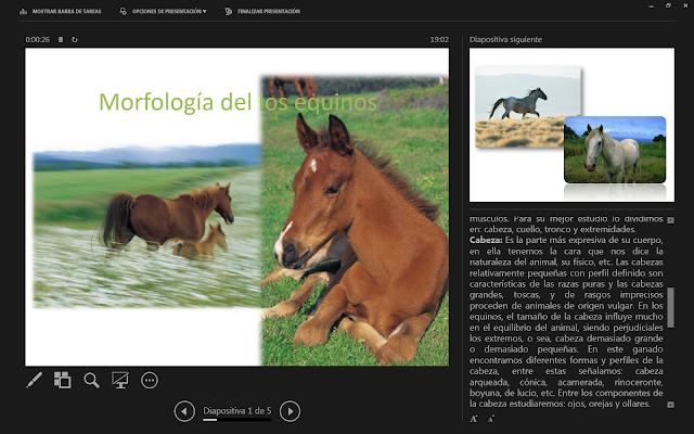 Vista moderador  PowerPoint 2013