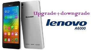 Cara Upgrade + Downgrade Manual Lenovo A6000 PLUS Kitkat ke Lollipop