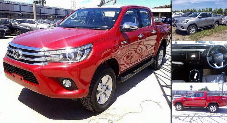 Next Generation Toyota Hilux 2015 2016 toyota hilux fully uncovered