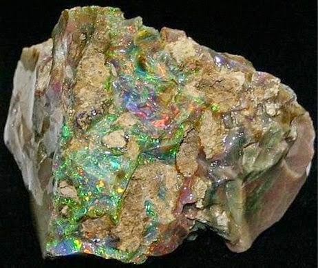 ciri batu kalimaya black opal susu