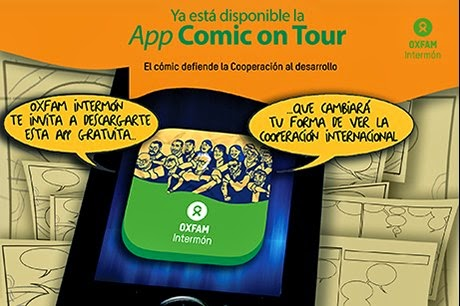 app comic on tour