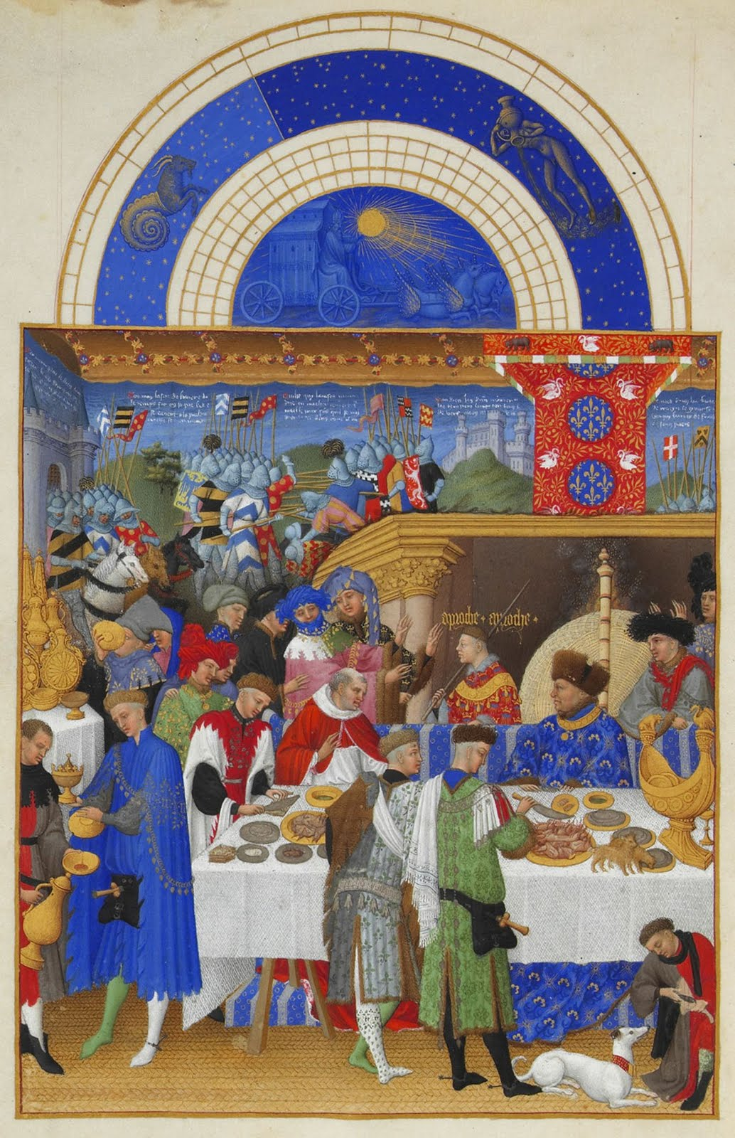 Limbourg Brothers January