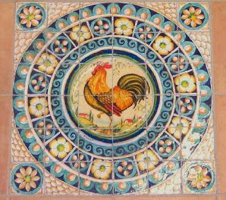 La bottega dell 39 artista tavoli in ceramica - Produzione piastrelle ceramica ...