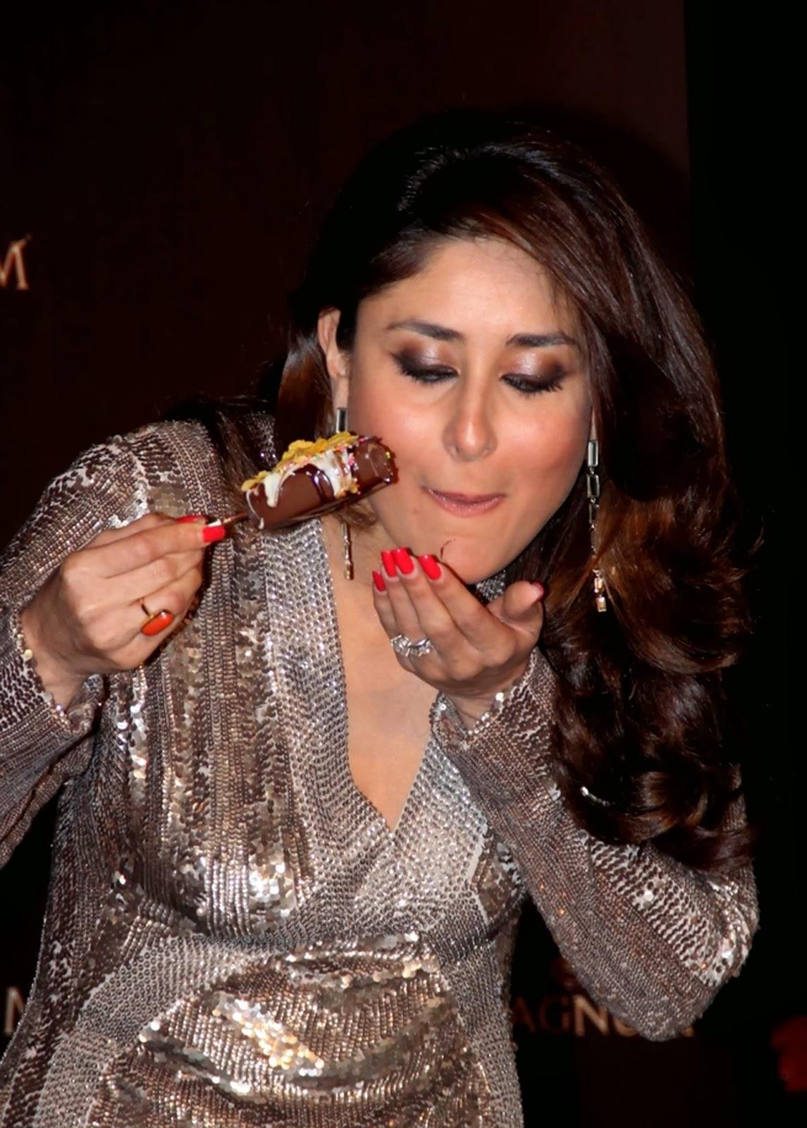 Actress, Ambassador, Bollywood, Business, Chocolate, Economy, Entertainment, Film, Ice cream, India, Kareena Kapoor, Magnum, Magnum classic, Movie, News, Showbiz,