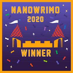 Nanowrimo 2020 Winner
