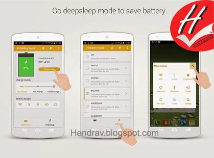 ... Aplikasi Android Deep Sleep Battery Saver Pro 3.11 APK di bawah ini