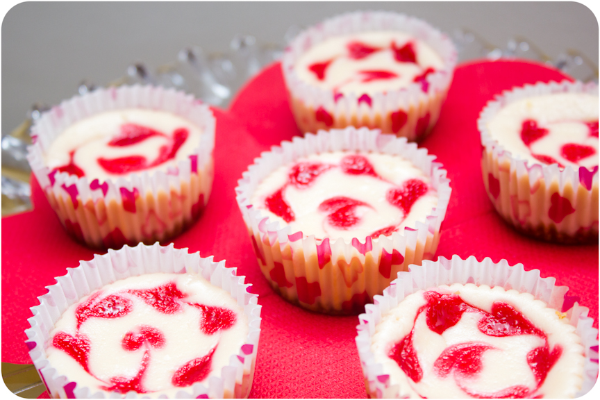 Cupcake Crazy Gem!: Raspberry Marble Cheesecakes for Martha Stewart's ...