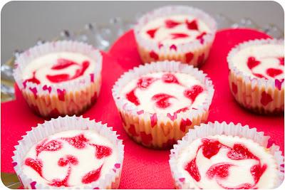 Cupcake Crazy Gem!: Raspberry Marble Cheesecakes for Martha Stewart's ...