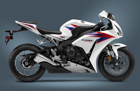 10 Fastest Motorbikes 2012 - CBR1000 RR
