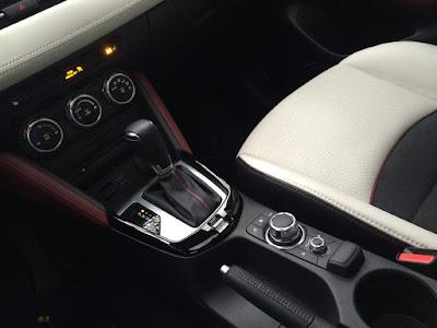 Mazda CX-3 center console