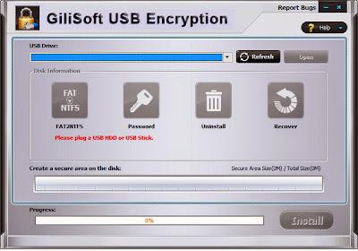 USB Stick Encryption 5.3 + Keygen