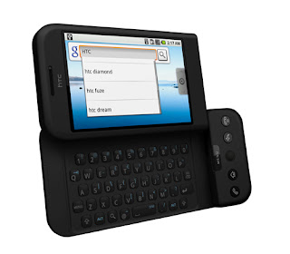 HTC Dream - First Android Smartphone