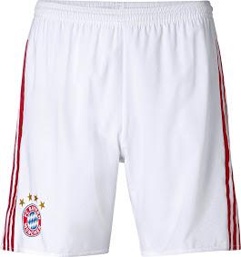 gamabr detail jersey musim depan Celana Bayern Munchen away terbaru musim depan 2015/2016 di enkosa sport