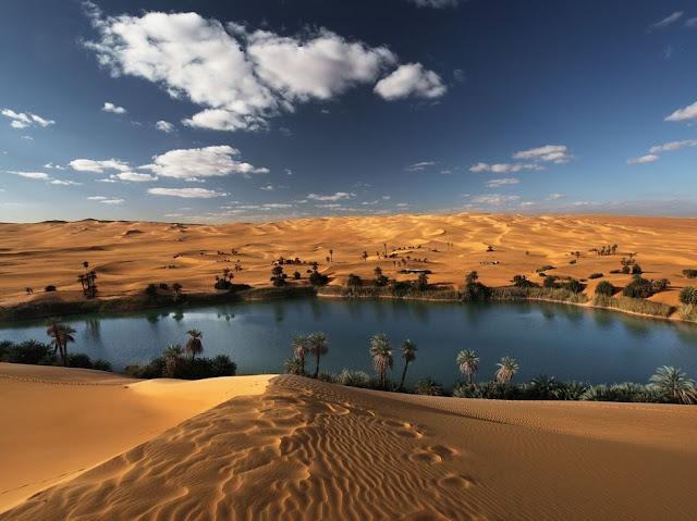 Fabulous Oasis in The Libyan Sahara