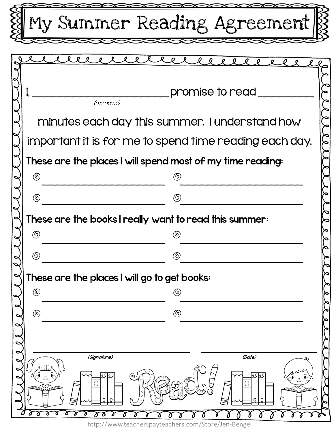 summer reading log template - daily reading log template for 5th grade the reader s