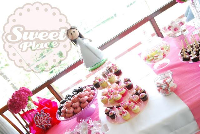 mesas dulces candy bar cupcakes tarta A Coruña Galicia