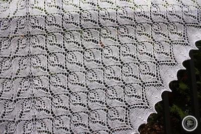 rosebud shawl