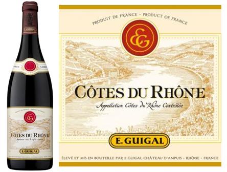 Guigal Cotes du Rhone Rouge 2010 Rhone Red Blends Wine Red Blends Wine