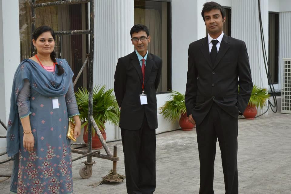 Dreamland hotel Islamabad Syed Ommer Amer with Ayesha Nayyer NYPP