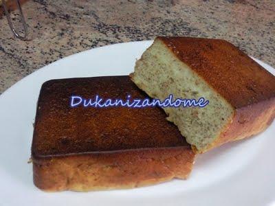 Pan de orégano  al horno Trozo+oregano+dukan