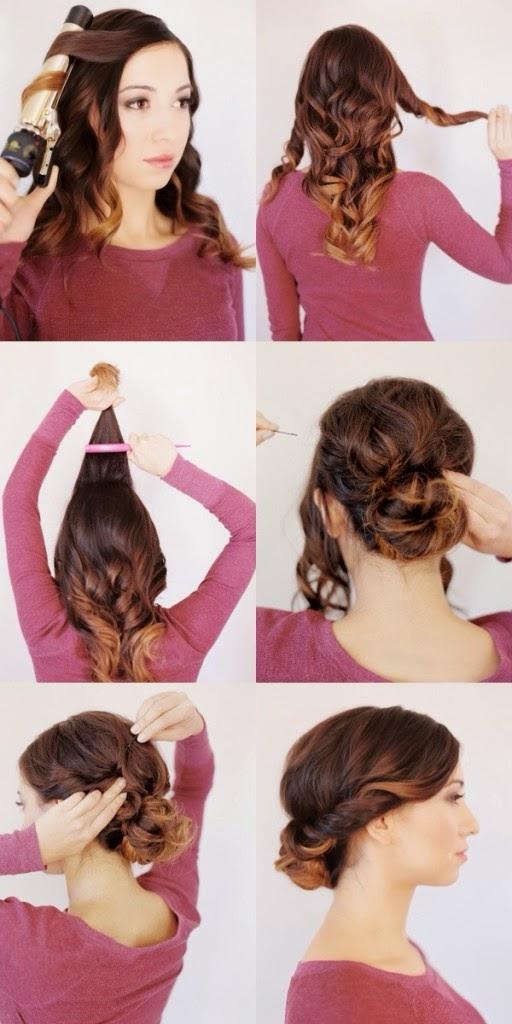 Peinados Tupe Paso A Paso - Más de 1000 ideas sobre Peinados Con Tupé en Pinterest Peinados