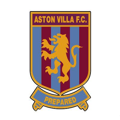 Aston Villa FC Logo, football club.