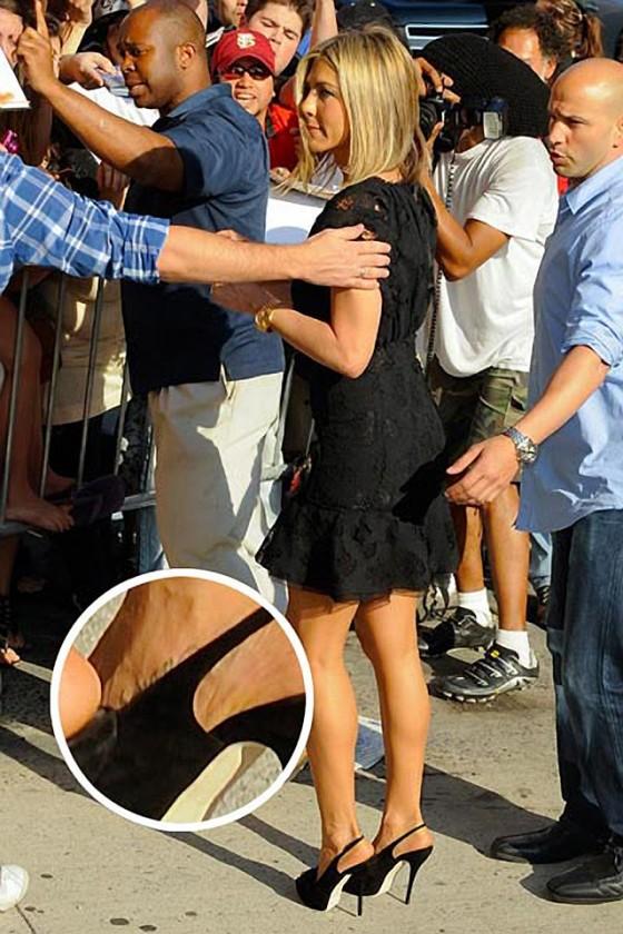 Jennifer Aniston Dog Name Tattoo