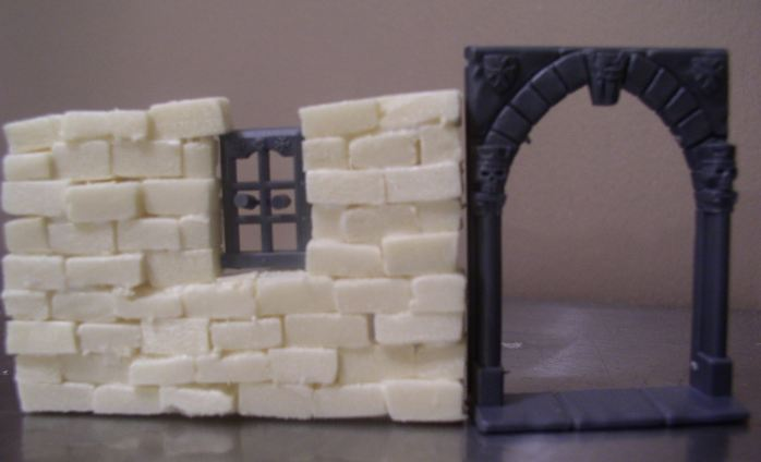 warp lib modelisme construire une maison medievale. Black Bedroom Furniture Sets. Home Design Ideas