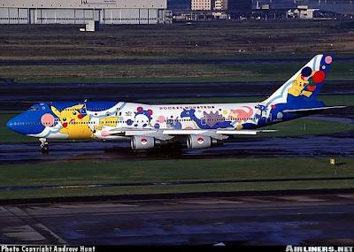Aviões personalizados!