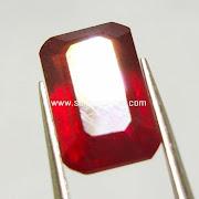 Batu Permata Merah Ruby