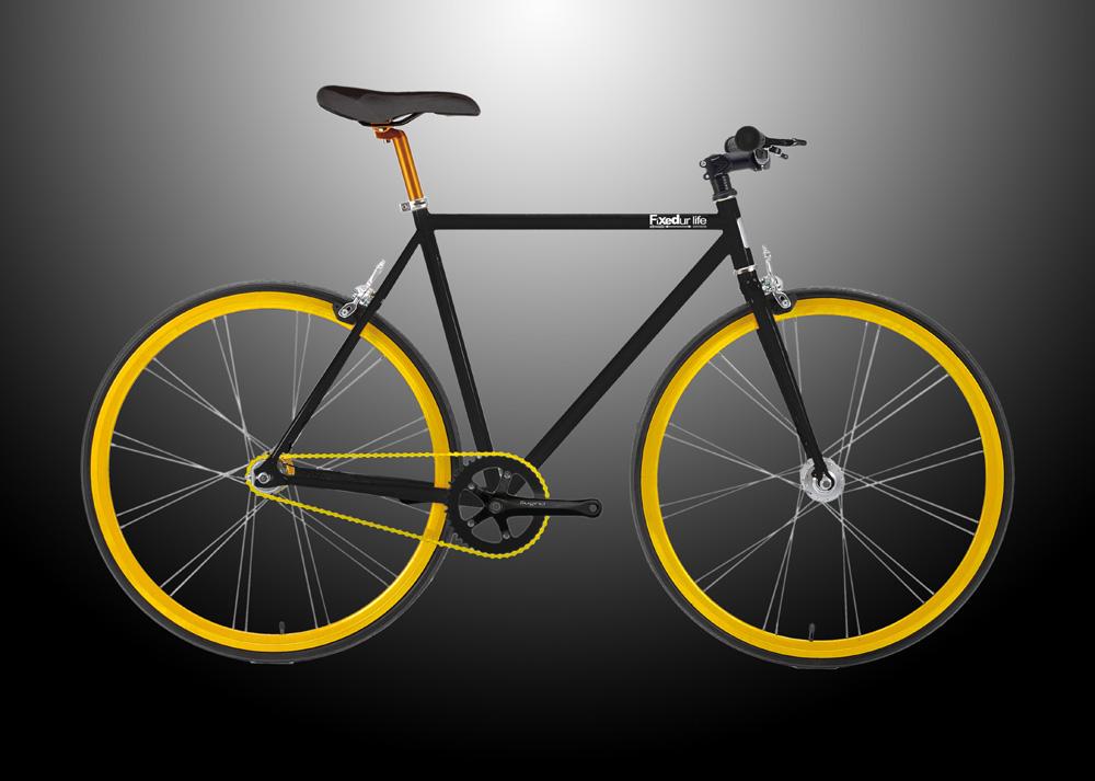 AW Fixed Gear Paradise: HI-TEN Steel Fixed Gear Bike