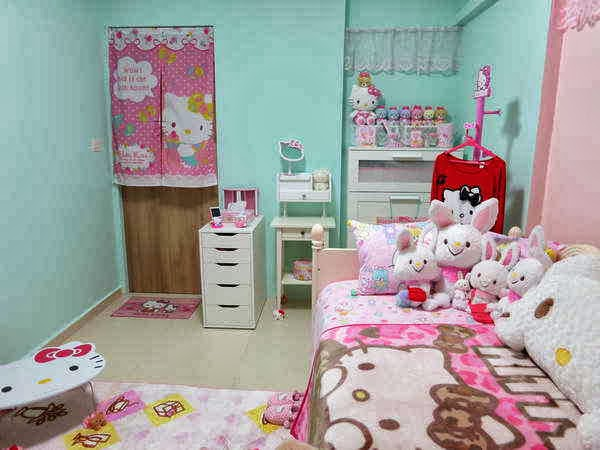 Gambar Wallpaper Kamar Hello Kitty | elHouz