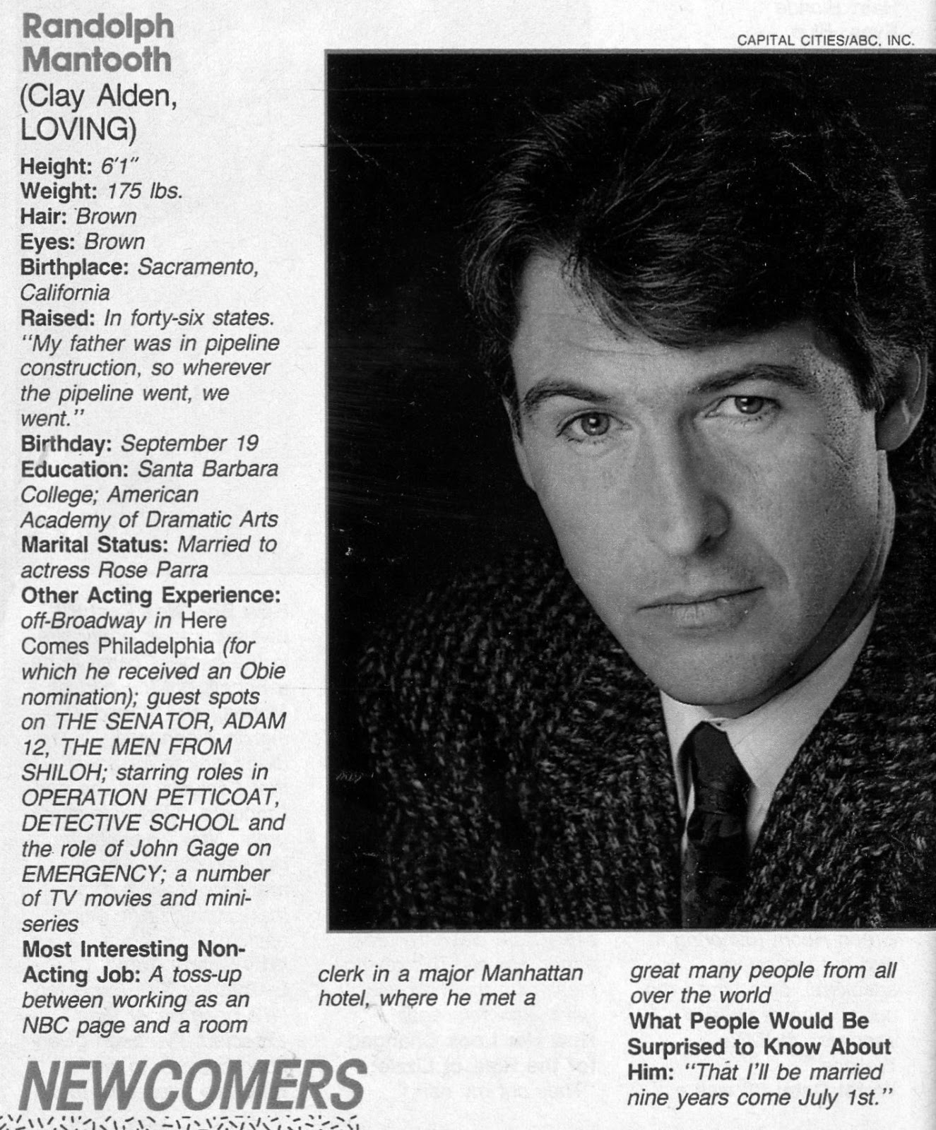 Loving-Soap Opera Digest (July 18, 1987)