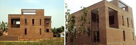 Casa de Adobe en la India, Arquitectura Sostenible